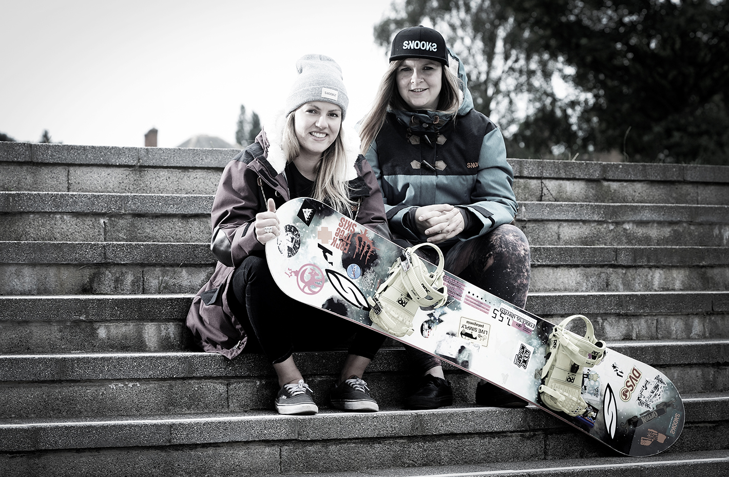 PICTURES COPYRIGHTED TO Beth Walsh photography [contact Beth on 07888753521] Business Magazine: Sophie Kelly and Susie Beere founders of Snooks a snowboarding and Skiing company in Loughborough